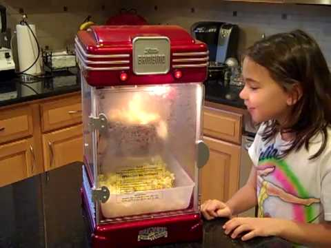 bambino popcorn machine