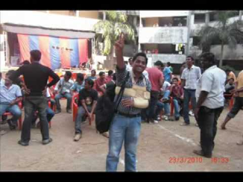 Bharati Vidhyapeeth BE  MECH 09-10 FAREWELL......by sai311.flv
