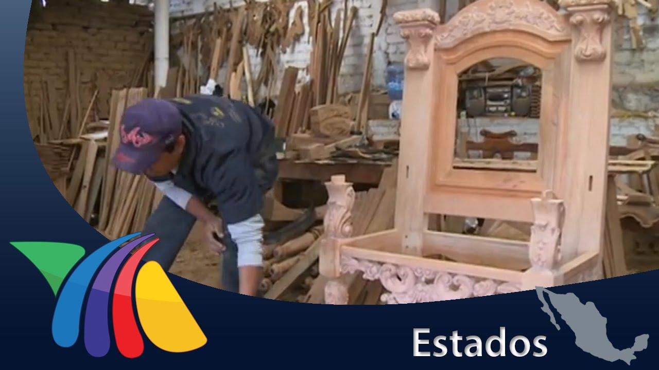 Artesanos de Michoacán elaboran silla papal  Noticias de Morelia