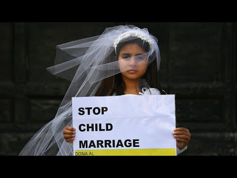 Little girl escapes Child Marriage