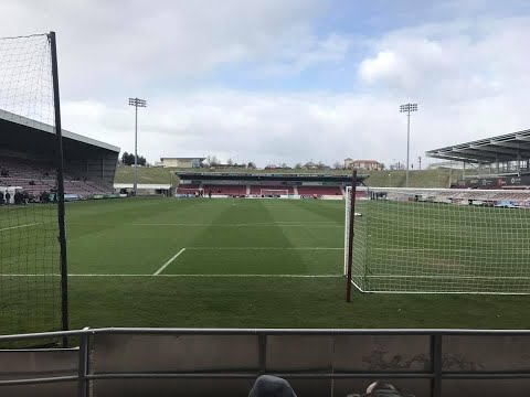 Northampton Town Vs Rotherham United - Match Day Experience