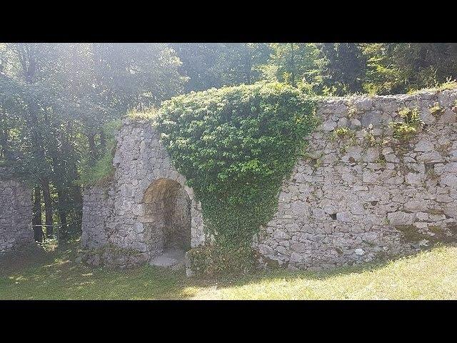 Burgruine Scharnstein - Urlaub im Salzkammergut