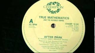 "True Mathematics - After Dark 12"" single"