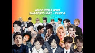 MALE IDOLS WHO SUPPORT LGBT - PART 4 (BTS, STRAY KIDS, NCT, THE BOYZ, ETC.)