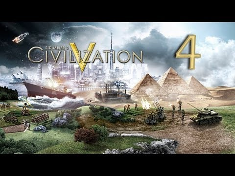 Let's Learn Civilization V -4- City States