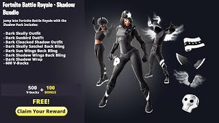 The *NEW* SHADOW LEGENDS PACK in Fortnite! (Season 9 FREE REWARDS)