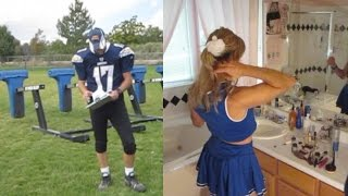 Heidi Transformation: Quarterback to Cheerleader