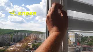 Рулонные шторы Зебра Уни-2 без сверления на скотч в Саратове | Елвея