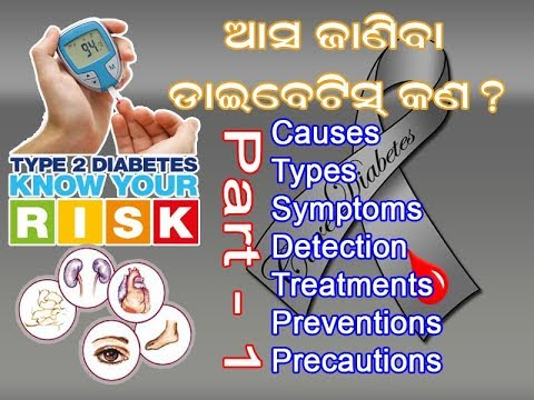 PART - 1- Know diabetes in odia II What is disease? What is diabetes incipidus?