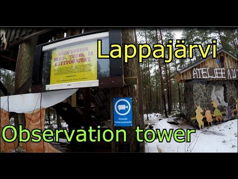 Lappajärvi Ylipään näkötorni-Nature Tour in Finland- Observation tower