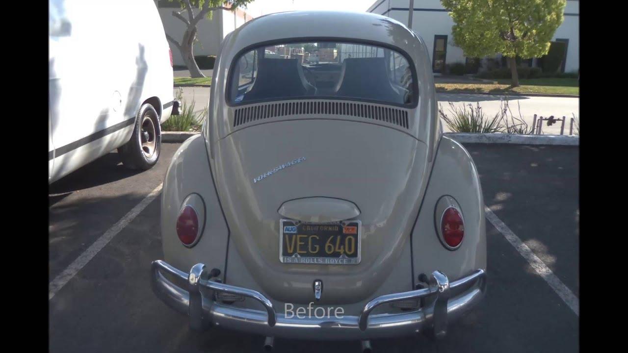 Auto Paint Colors >> 1966 Volkswagen Beetle Paint Color Restoration - YouTube