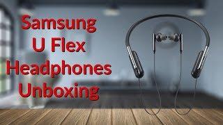 Samsung U Flex Headphones Unboxing - YouTube Tech Guy