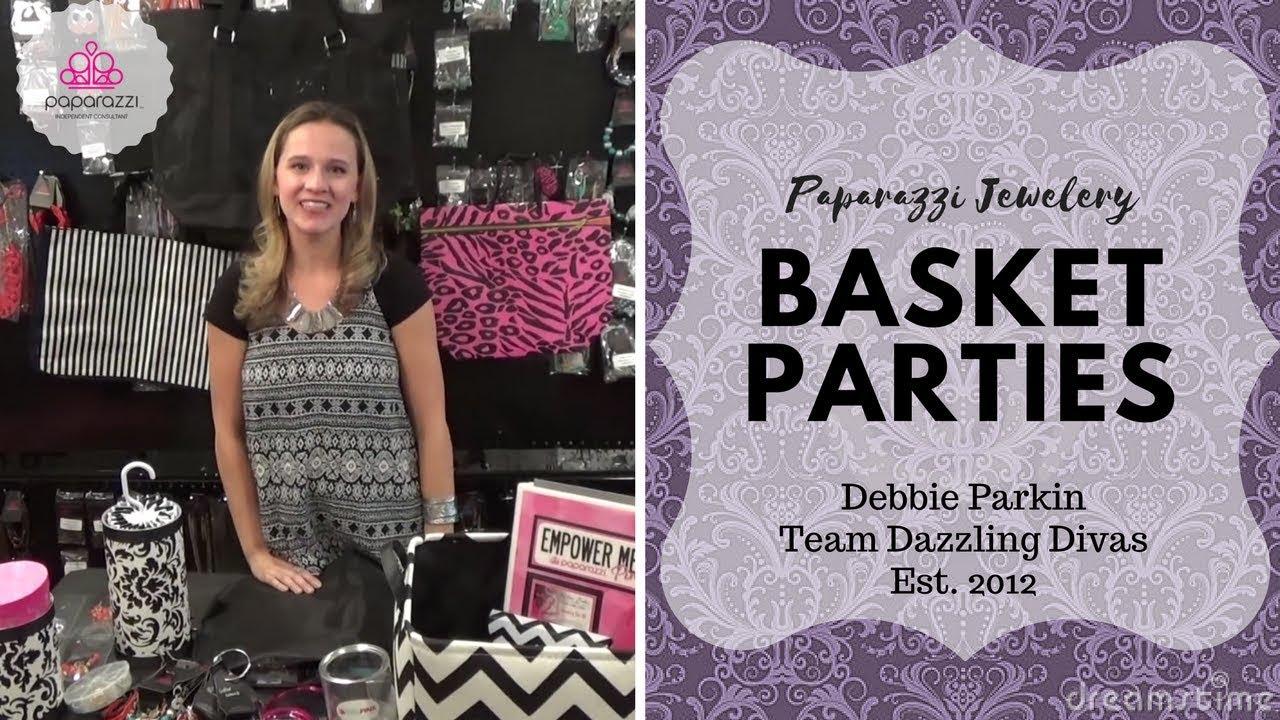 Paparazzi jewelry basket parties youtube for Paparazzi jewelry gift basket
