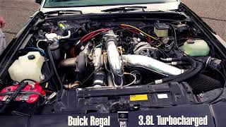 Buick Regal 3.8L Turbocharged