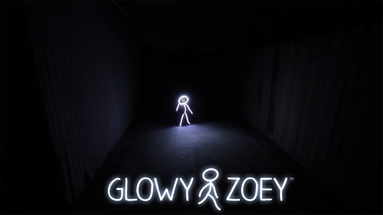 glowy zoey led light suit halloween costume - youtube