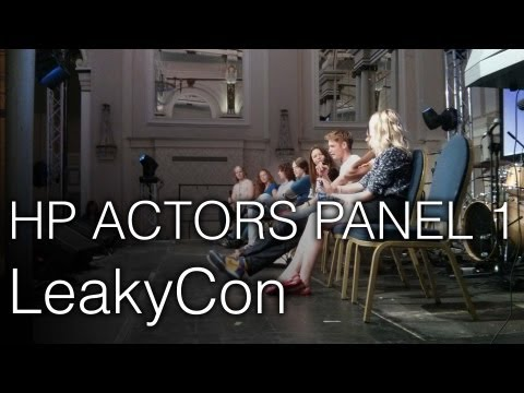 Harry Potter Actors Panel 1 @ LeakyCon London - Evanna Lynch, Alfie Enoch and More