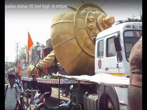 Hanuman Ji Gada  45 foot long, weighing 21 tonnes found