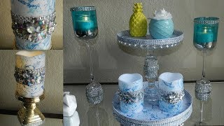 3 Dollar Tree DIY Spring 2019 Glam Marble Home Decor|  DIY Elegant Marble Room Decor Ideas 2019