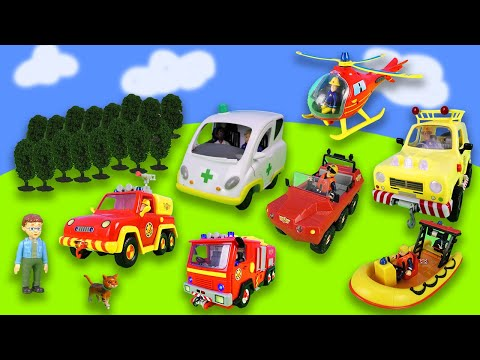 1 hour of fun with Fireman Sam: Car accident, towing service and rescue operations from YouTube · Duration:  1 hour 7 minutes 5 seconds