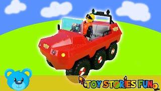 1 Stunde Spaß mit Feuerwehrmann Sam: Autounfall, Abschleppdienst und Rettungseinsätze
