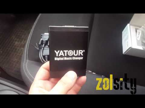 Renault Megane 2 адаптер YATOUR  (USB SD AUX)