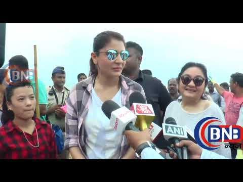 Actress Anushka Sharma Supports PM  Modi ...