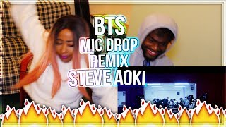 BTS (?????) 'MIC Drop (Steve Aoki Remix)'  & Desiigner?? Official Teaser REACTION! MP3