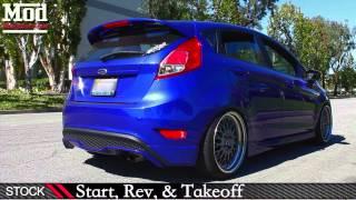 Ford Fiesta St Cobb Catback Exhaust Sound Comparison