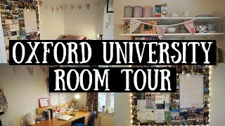 OXFORD UNIVERSITY ROOM TOUR | viola helen