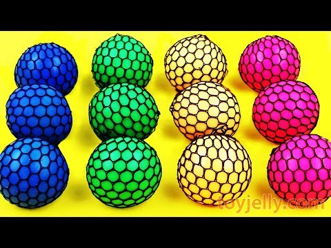 Learn Colors Squishy Balls Surprise toys And Super Surprise Egg Kinder Joy Fun for Kids Baby Toys