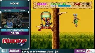 Hook by LivelyRaccoon in 16:12 - SGDQ 2016 - Part 93