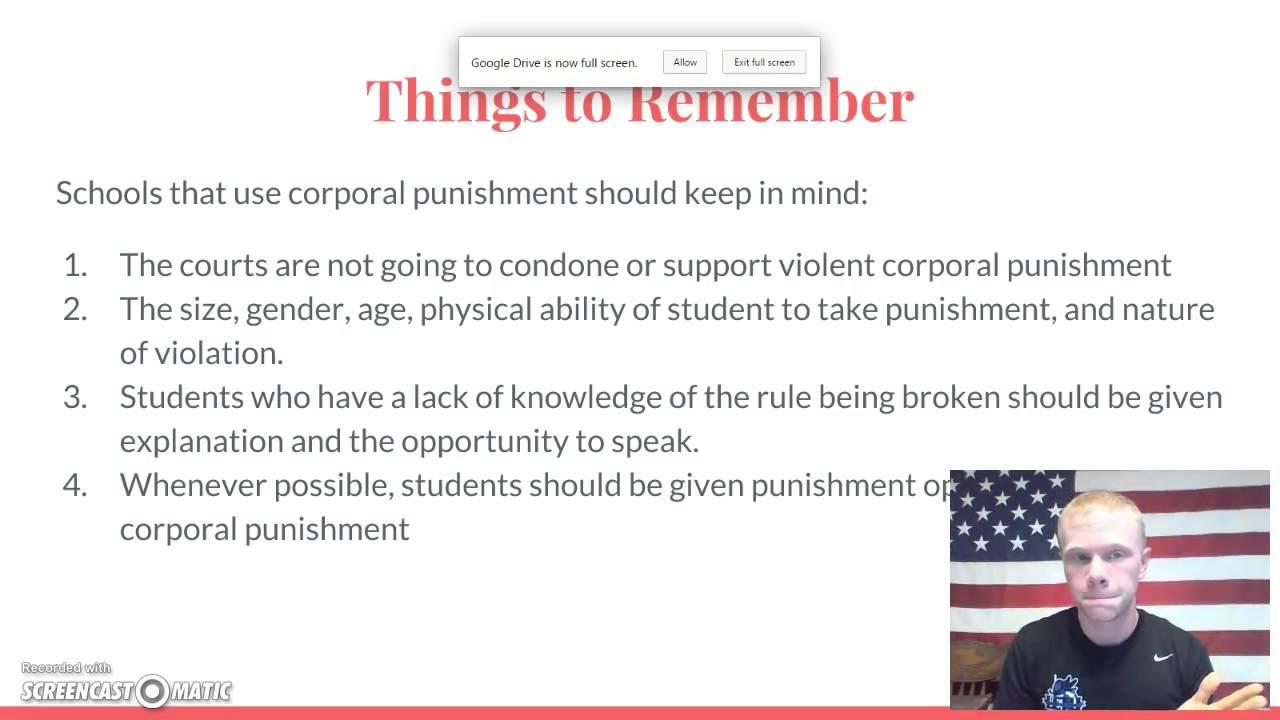Corporal Punishment In Schools - Youtube-4943