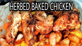 HERBED BAKED CHICKEN