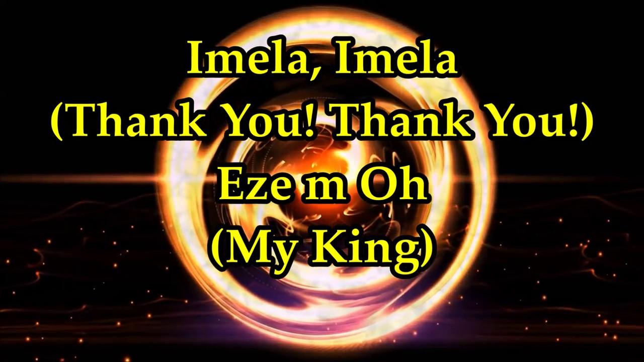 Download Nathaniel Bassey ft  Enitan Adaba   Imela Thank You   Lyrics  Nigerian Gospel Song