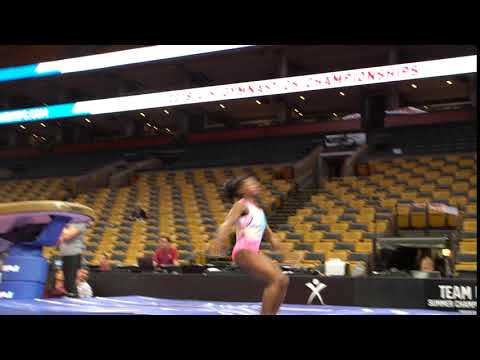 Simone Biles - Vault 2 - 2018 U.S. Gymnastics Championships - Podium Training