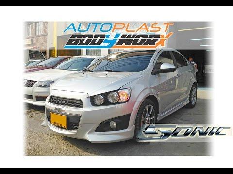 Autoplast Bodyworx Bodykit Chevrolet Sonic Hb Y Sedan Youtube