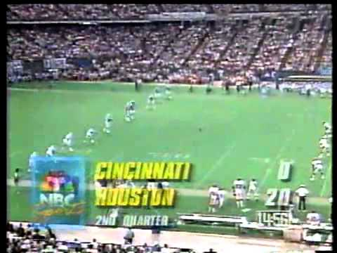 Houston vs Bengals 1991