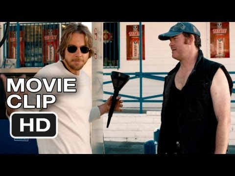 Hit and Run Movie CLIP - Gas Station (2012) - Bradley Cooper, Kristen Bell Movie HD