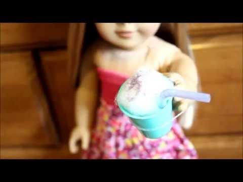 How to Make an American Girl Doll Milkshake