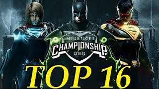 INJUSTICE 2 Pro Series - COMBO BREAKER TOP 16
