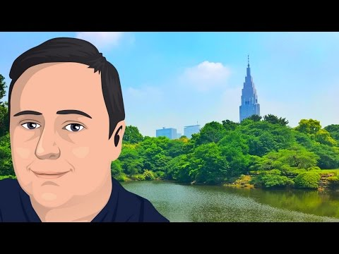 Exploring Shinjuku: Japanese Park and Street Life (Tokyo Travel Vlog Ep 4)