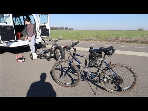 CHEAPEST MOTORIZED BICYCLE 💩ON YOUTUBE.