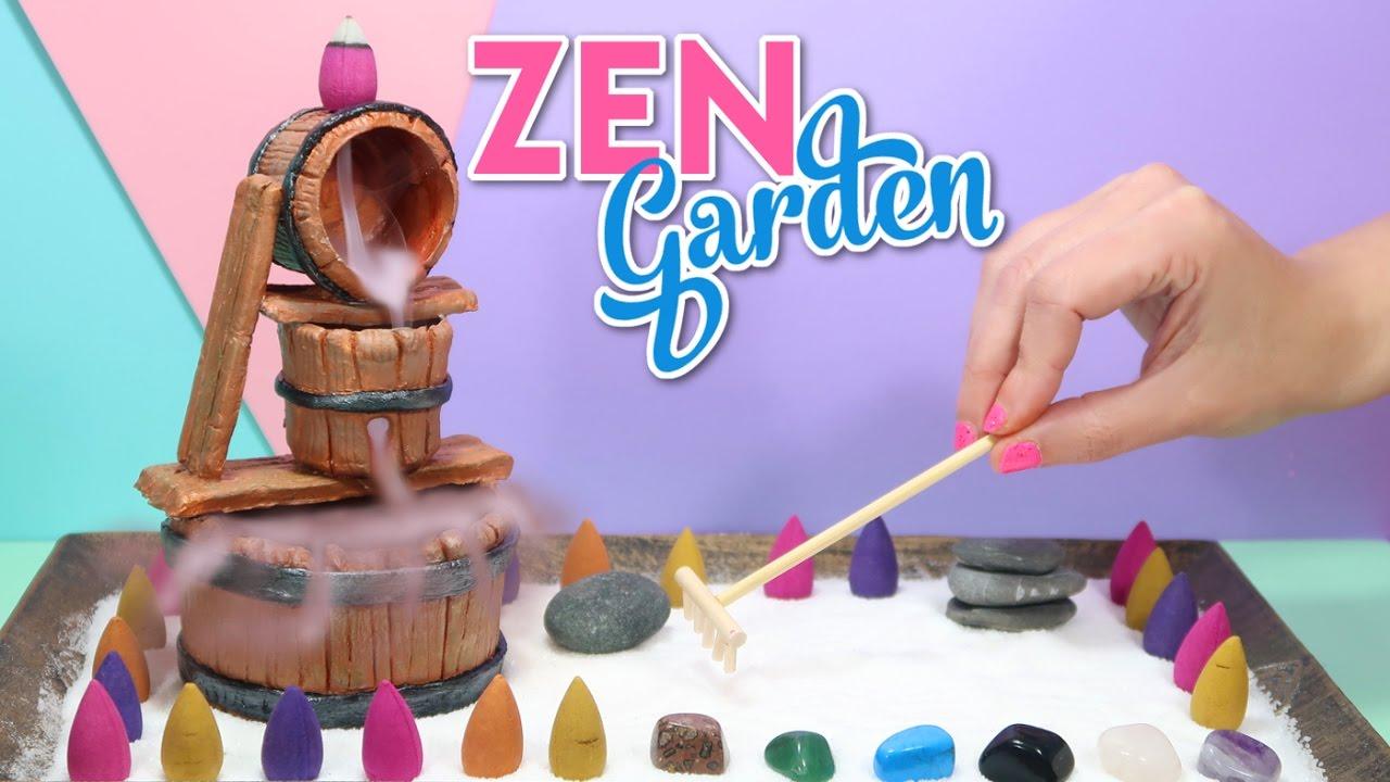 How To Make A Miniature Zen Garden Diy Stress Desk Decoration