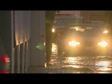 Coyote Creek Flooding Evacuates San Jose Neighborhoods