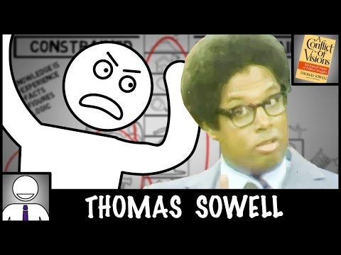 Thomas Sowell - A Conflict of Visions - Animated Book Review