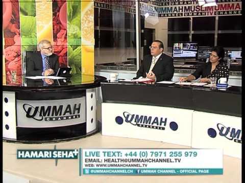 Hamari Sehat - Bowel Cancer - with DrIshfaq Ahmad & Shahida Hanif -2