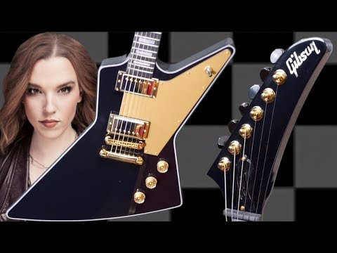 Lzzy Hale's New Explorer - Worth the Price? | 2019 Gibson Signature Dark Explorer | Review + Demo