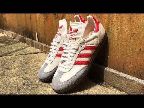 Adidas SAMBA LUZHNIKI     unboxing     on foot review