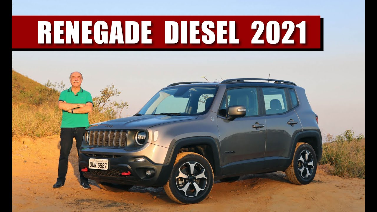 Jeep Renegade Trailhawk 2021 - TESTE do Camanzi