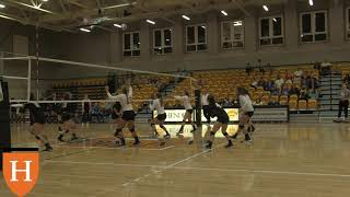 Volleyball Highlights vs Central Baptist College in 2018 Hendrix Warrior Classic